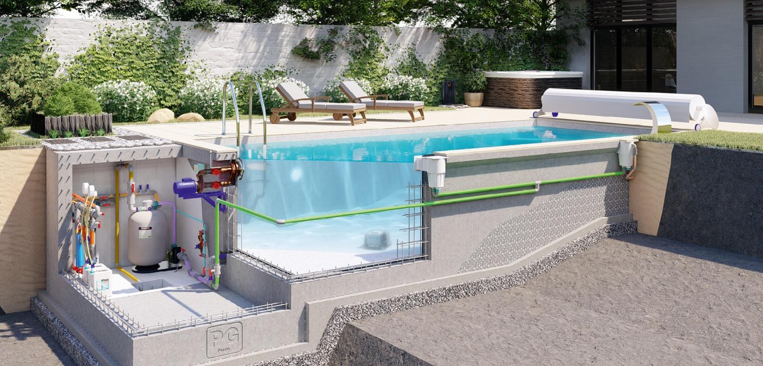 Как работает бассейн?