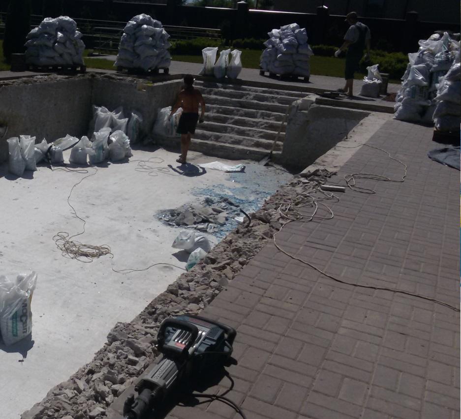 Реконструкція басейнів
